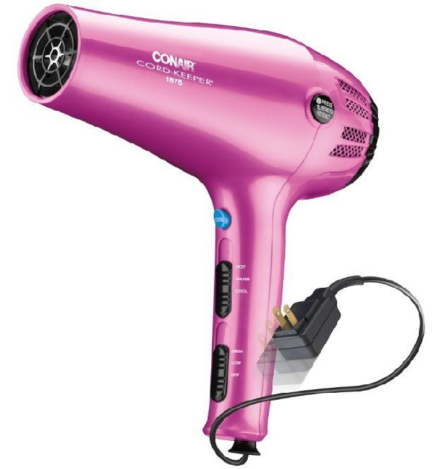 conair blow dryer conair cord keeper hair dryer review 2 in 1 styler 30550